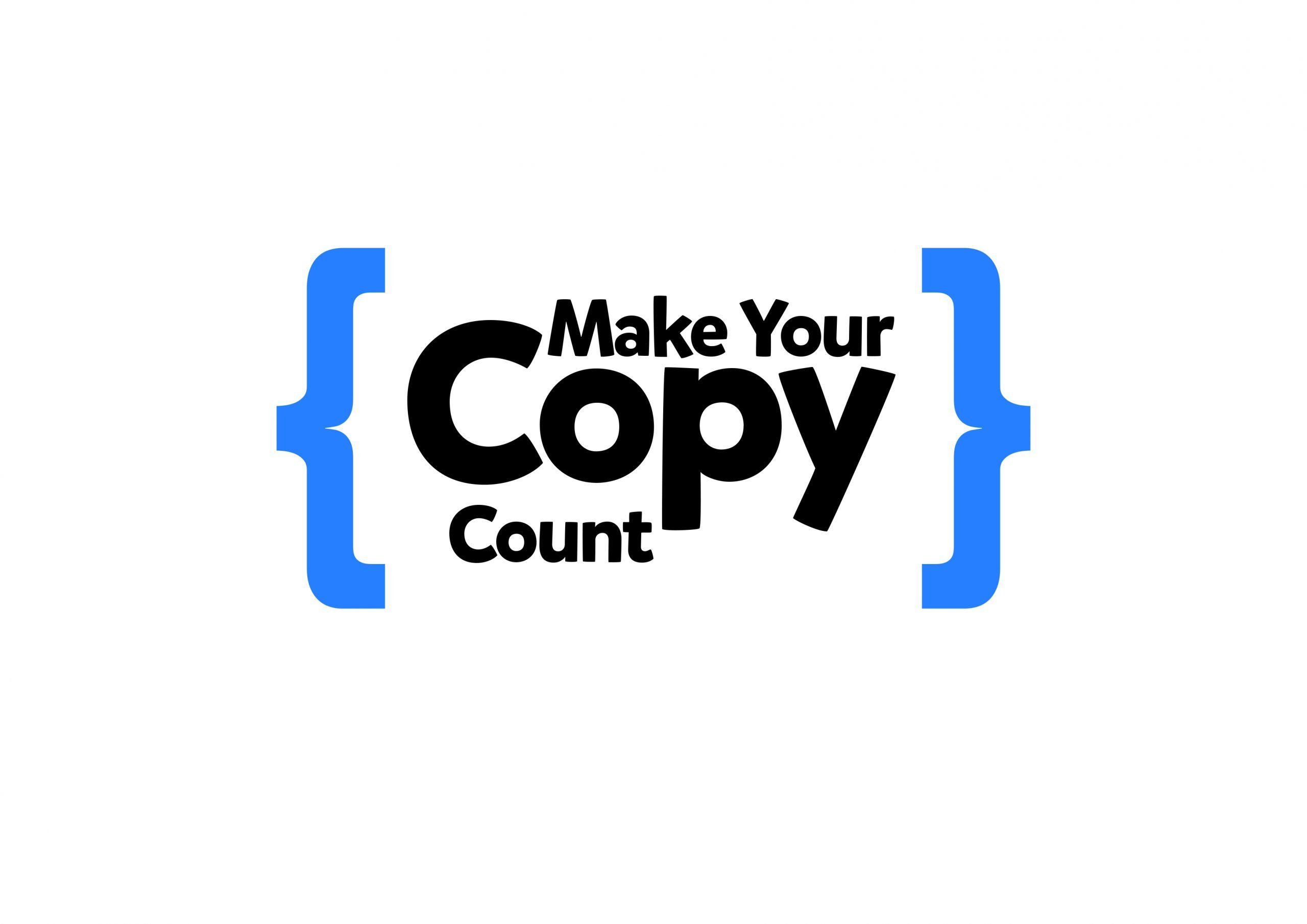 Make Your Copy Count Logo