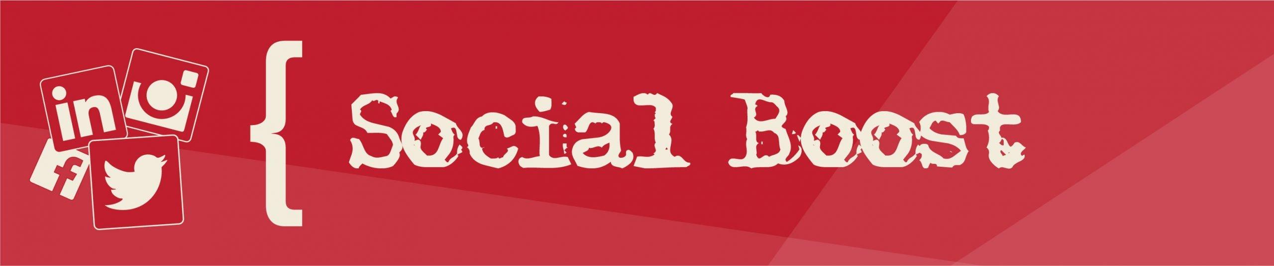 Social Boost Banner