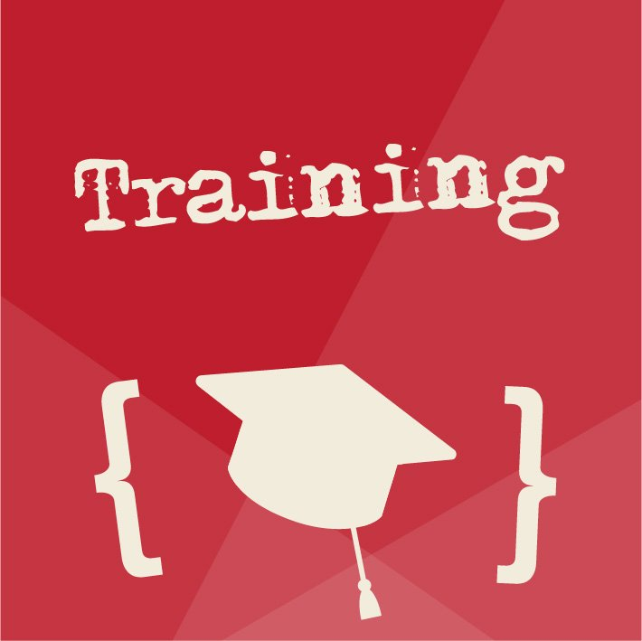 Red Training Website Graphic